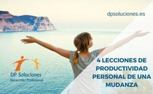 4 LECCIONES DE PRODUCTIVIDAD PERSONAL DE UNA MUDANZA