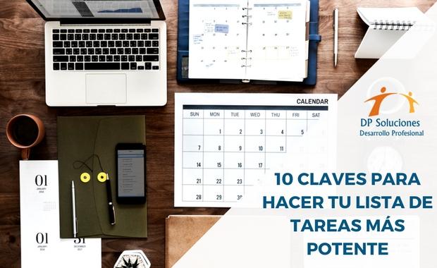 10 CLAVES PARA HACER TU LISTA DE TAREAS MÁS POTENTE