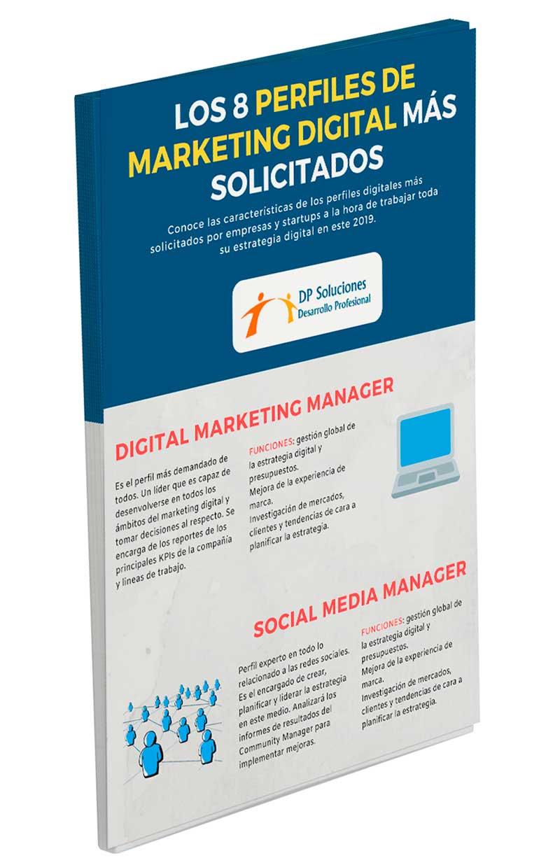 Imagen de la infografía perfiles marketing digital